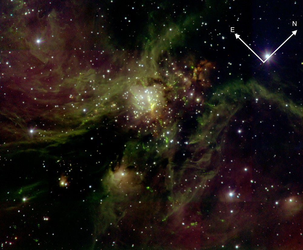 Lucifer Instrument Helps Astronomers See Through Darkness to