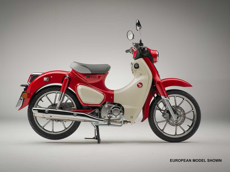 Honda Super Cub C125 Back For 2020 Motorcycle Cruiser