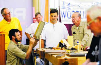 Mesquite Woodworking Show Offers Art Tools That Are A Cut Above