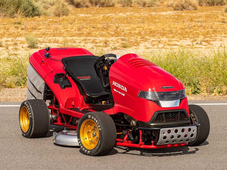 Honda's 150MPH, CBR1000RR-powered Riding Lawn Mower | Cycle World