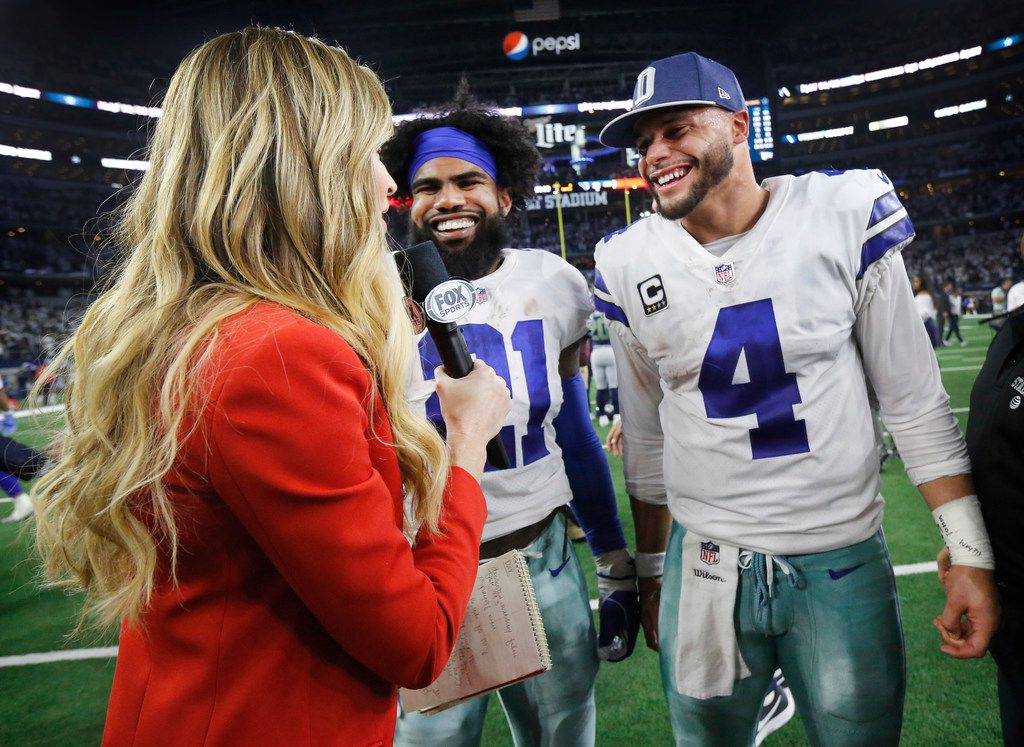 online retailer 37931 9bdeb Why Cowboys QB Dak Prescott thinks a returning Ezekiel ...