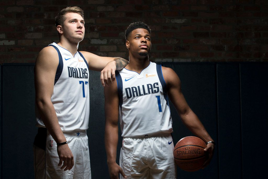 innovative design 9f0b2 9650c How will Mavs' trio of Luka Doncic, Dennis Smith Jr. and ...