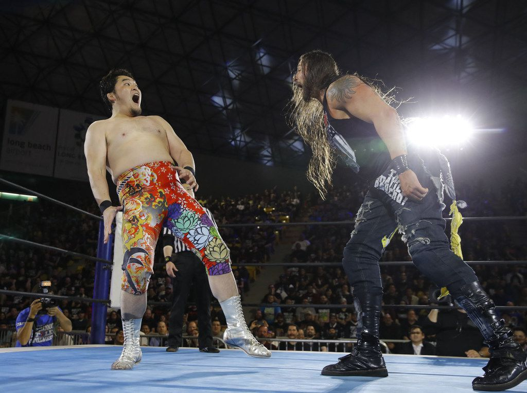 New Japan Pro-Wrestling makes its live Dallas debut tonight