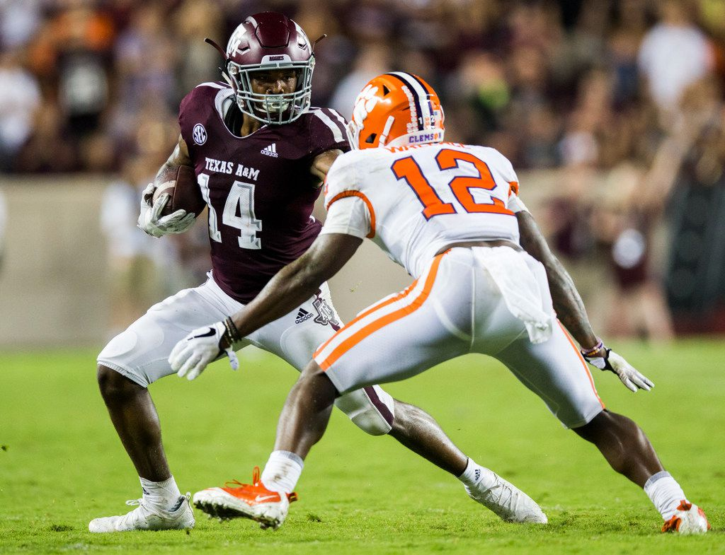 quality design 4ddae d4bb2 How working with Randy Moss this summer aided Texas A&M WR ...