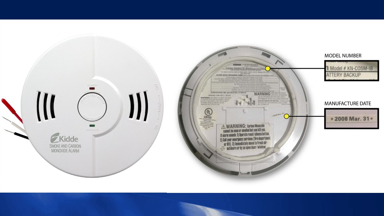 Millions Of Kidde Brand Smoke And Carbon Monoxide Alarms Recalled