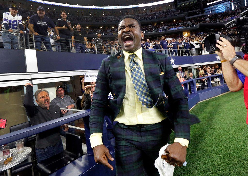Watch: Michael Irvin enters Cowboys euphoria following