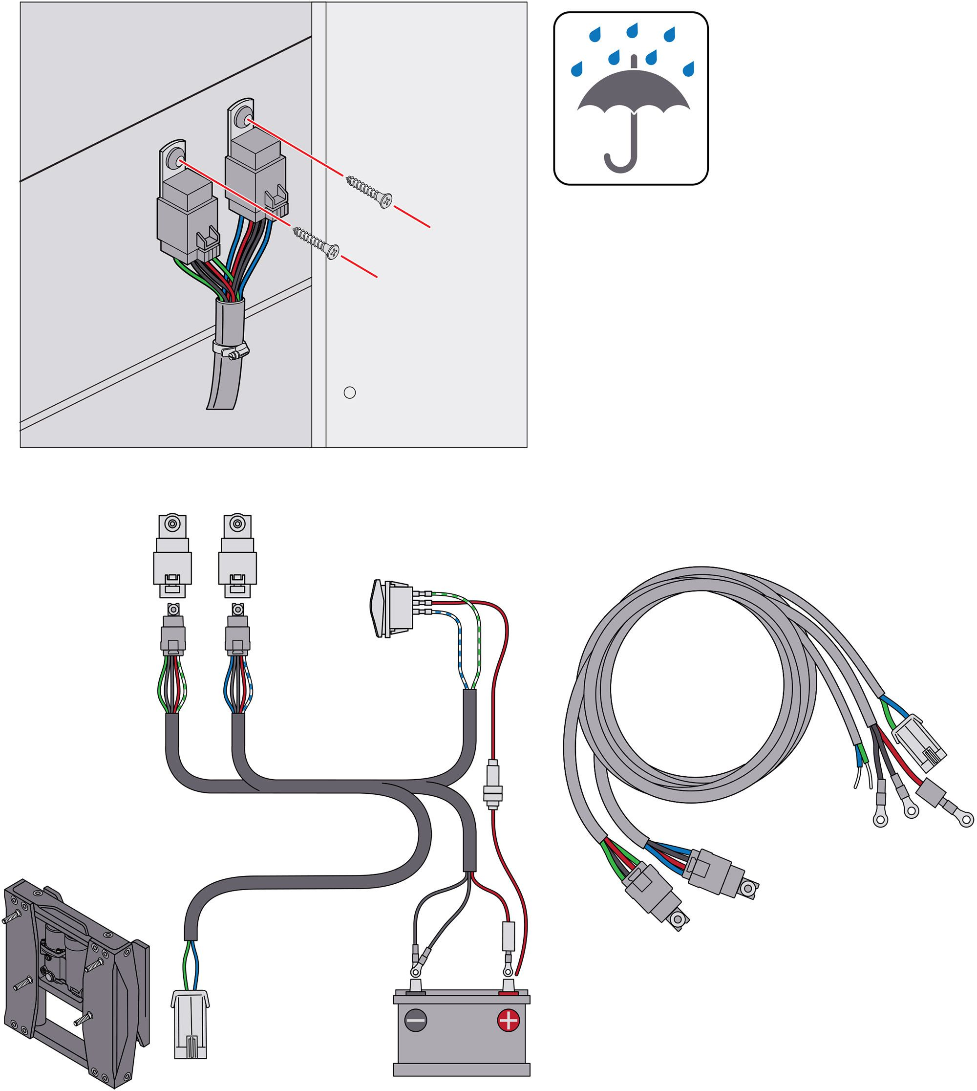 Installing an Outboard Motor Jack Plate on a Boat | Boating Magazine | Hydraulic Jack Plate Wiring Diagram |  | Boating Magazine