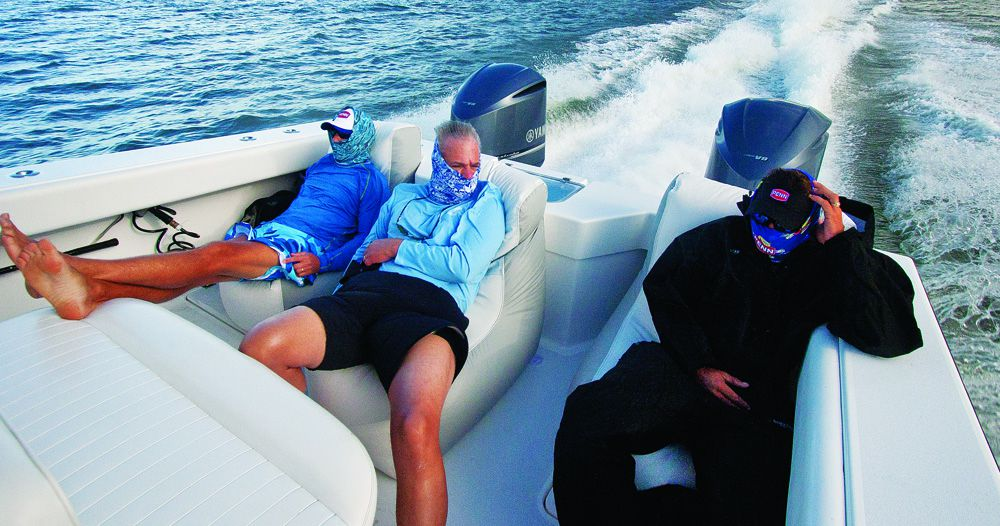 Center Console Seats Seating Ideas For Boats Sport Fishing Magazine