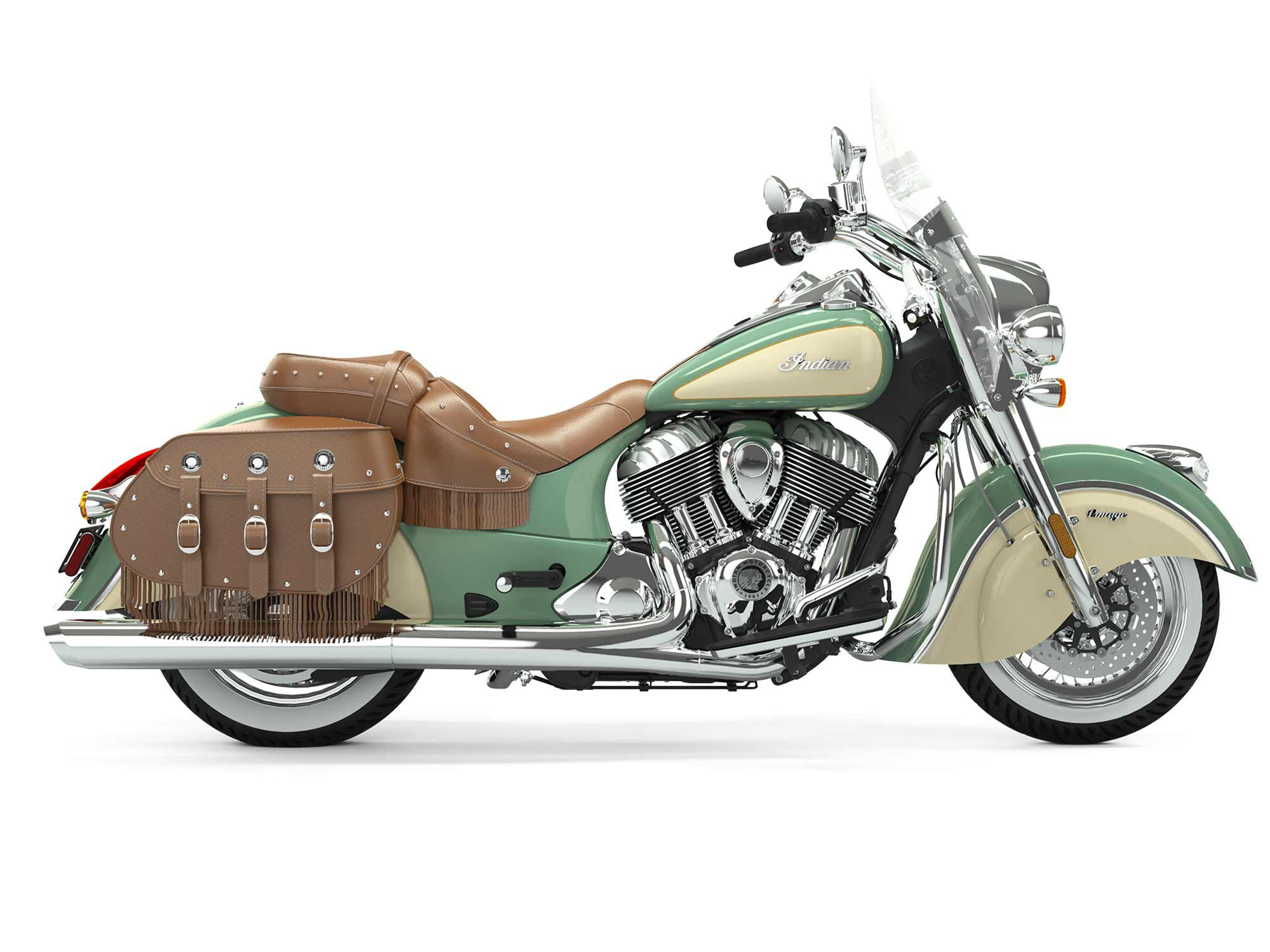 2020 Indian Chief Vintage Cycle World