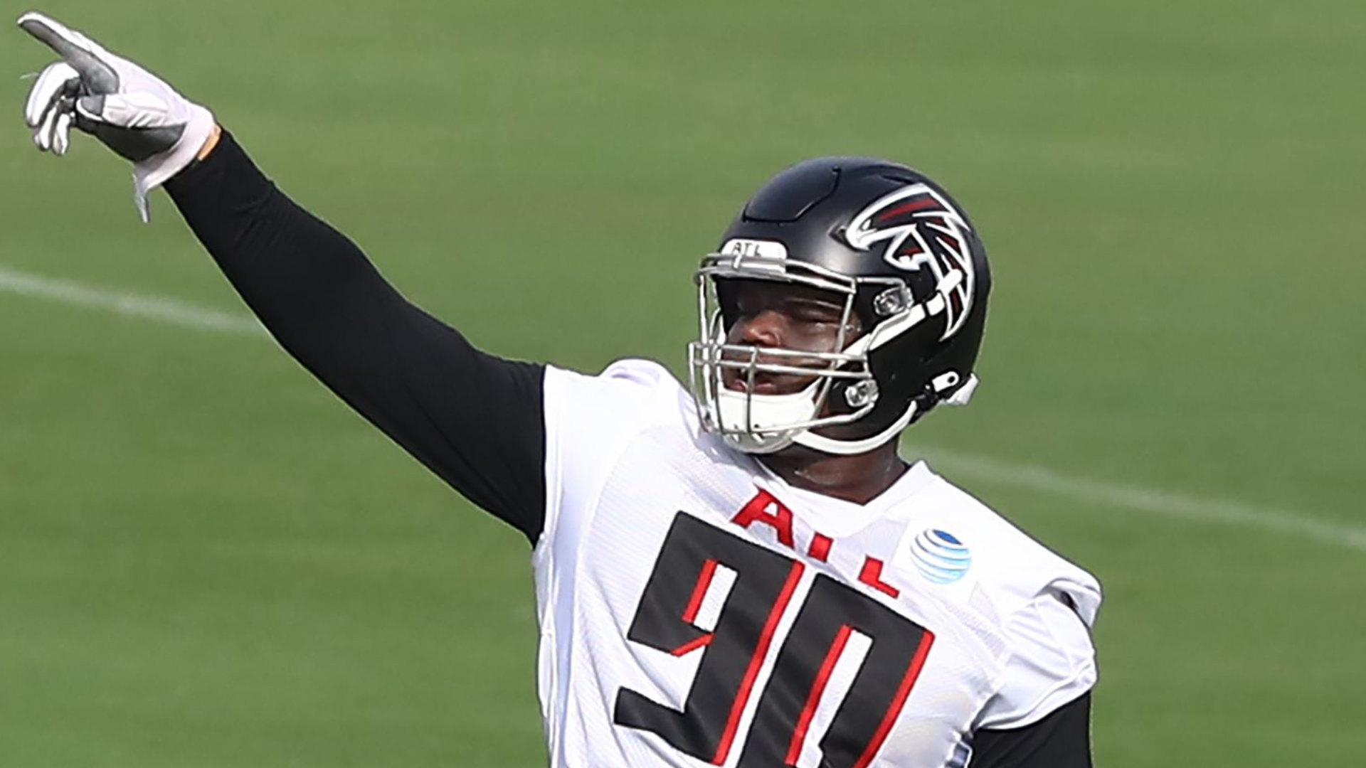 Falcons Rookie Davidson Could Miss Season Opener