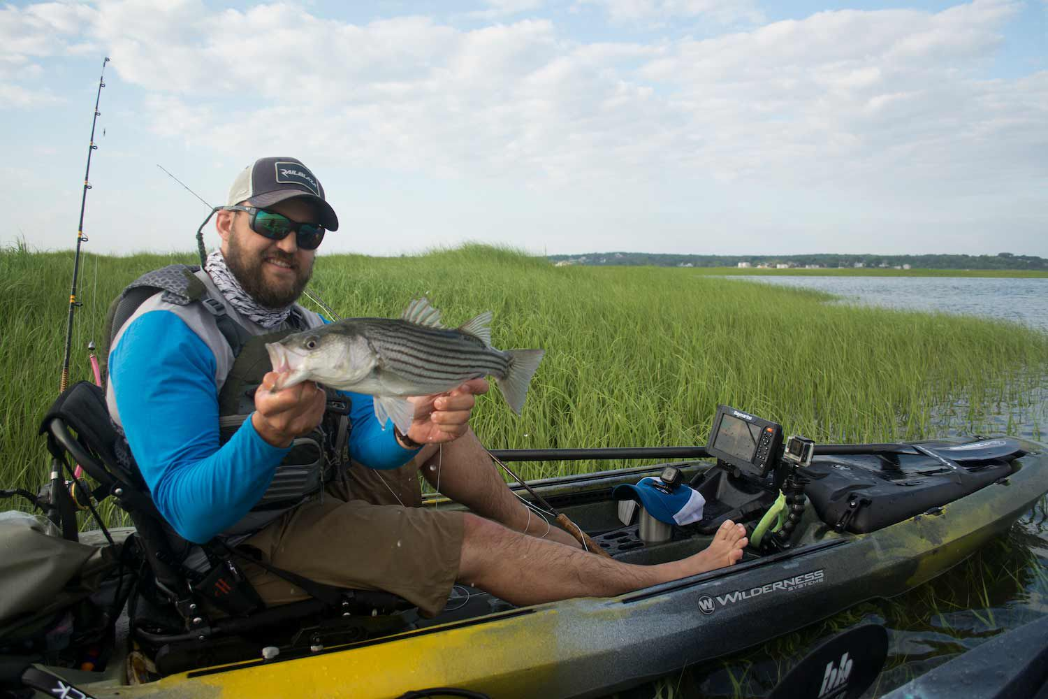 Build Out Your Saltwater Fishing Kayak Like The Ultimate Lightweight Skiff Field Stream