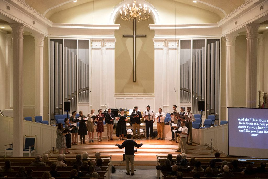 Dallas' Verdigris Ensemble redefines choral music in show
