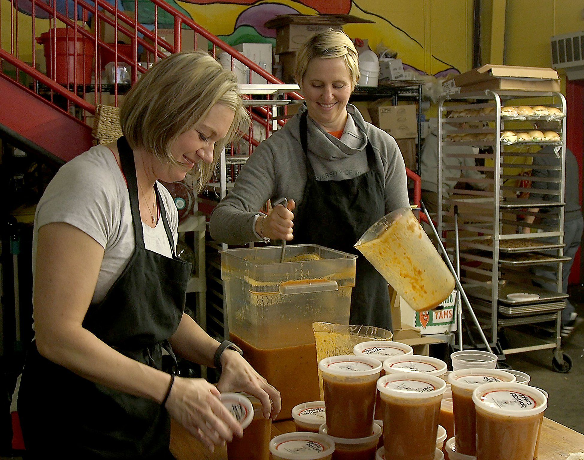 Souper Jenny Helps Feed The Hungry