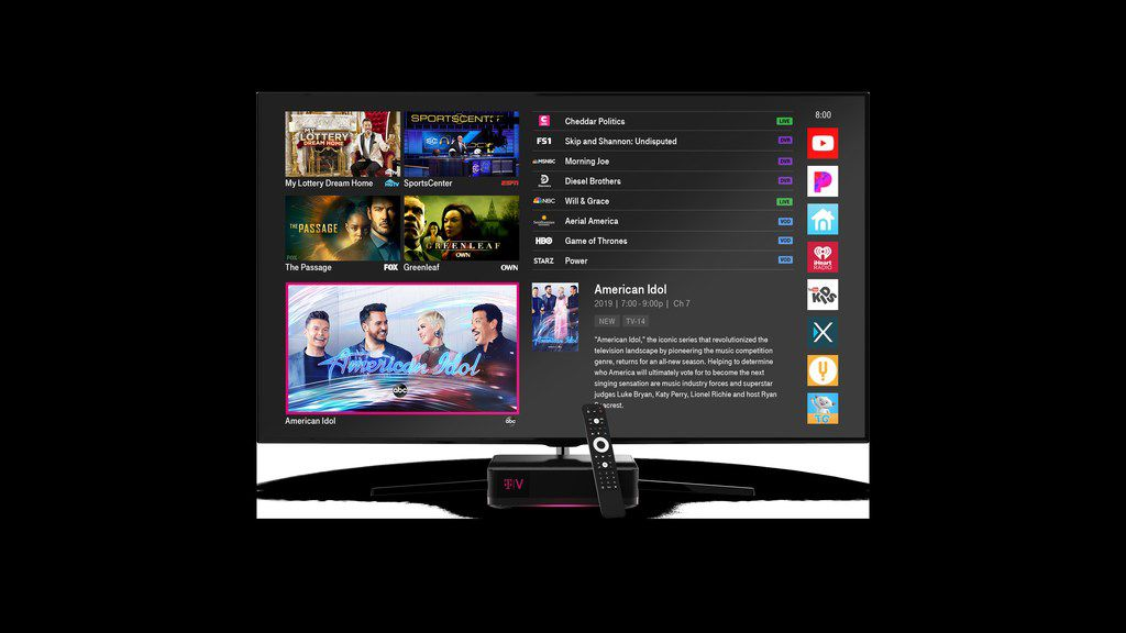 With Launch Of New Tv Service T Mobile Takes Aim At At T S