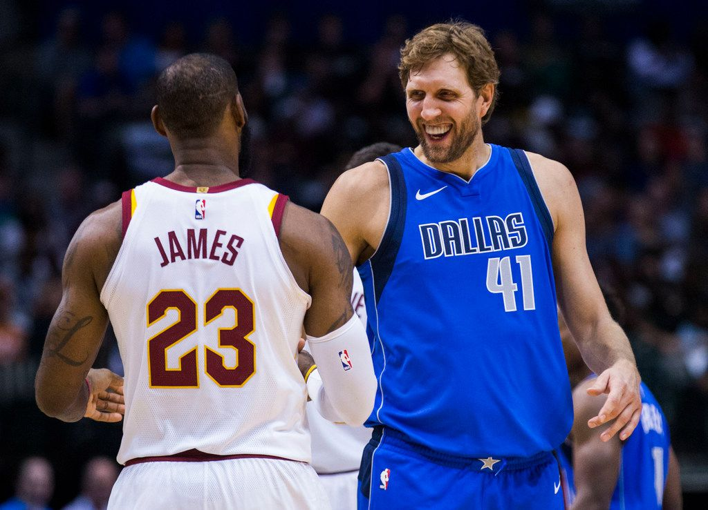 promo code 44893 21a3b It's inevitable: LeBron James is mere days from passing Dirk ...
