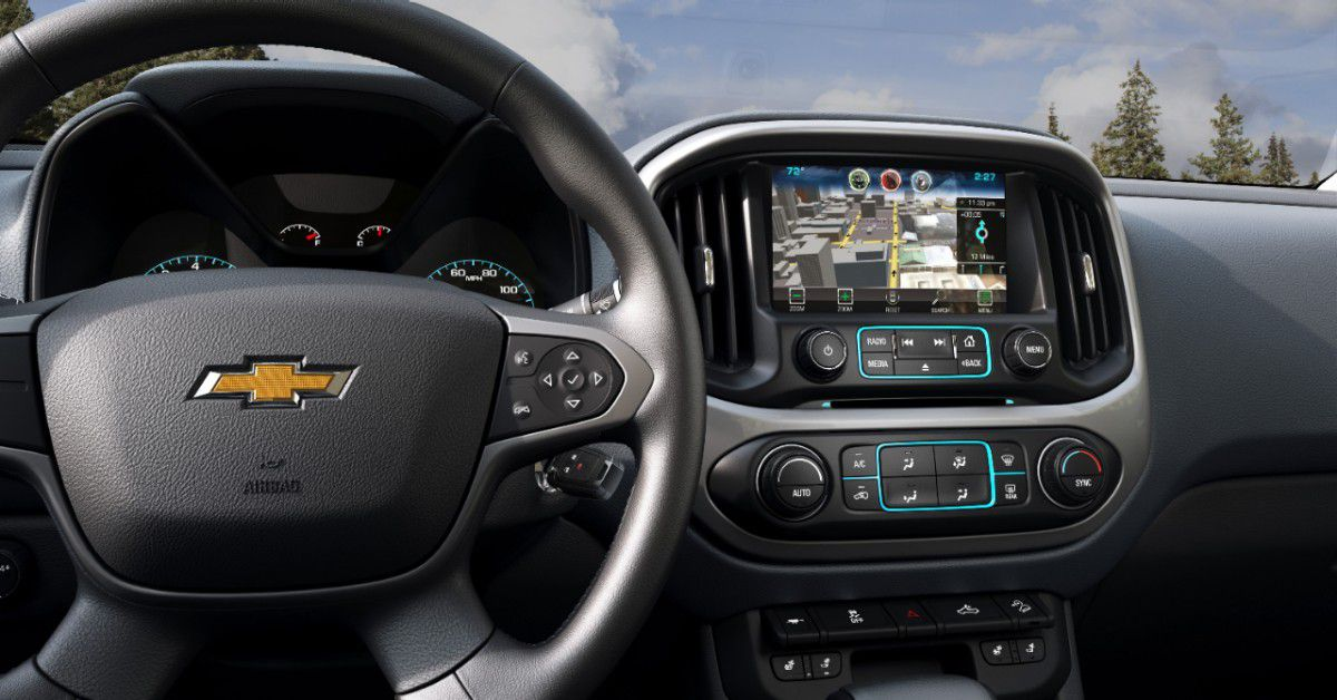 2015 Chevy Colorado Pickup Comes With A Side Of Wi Fi