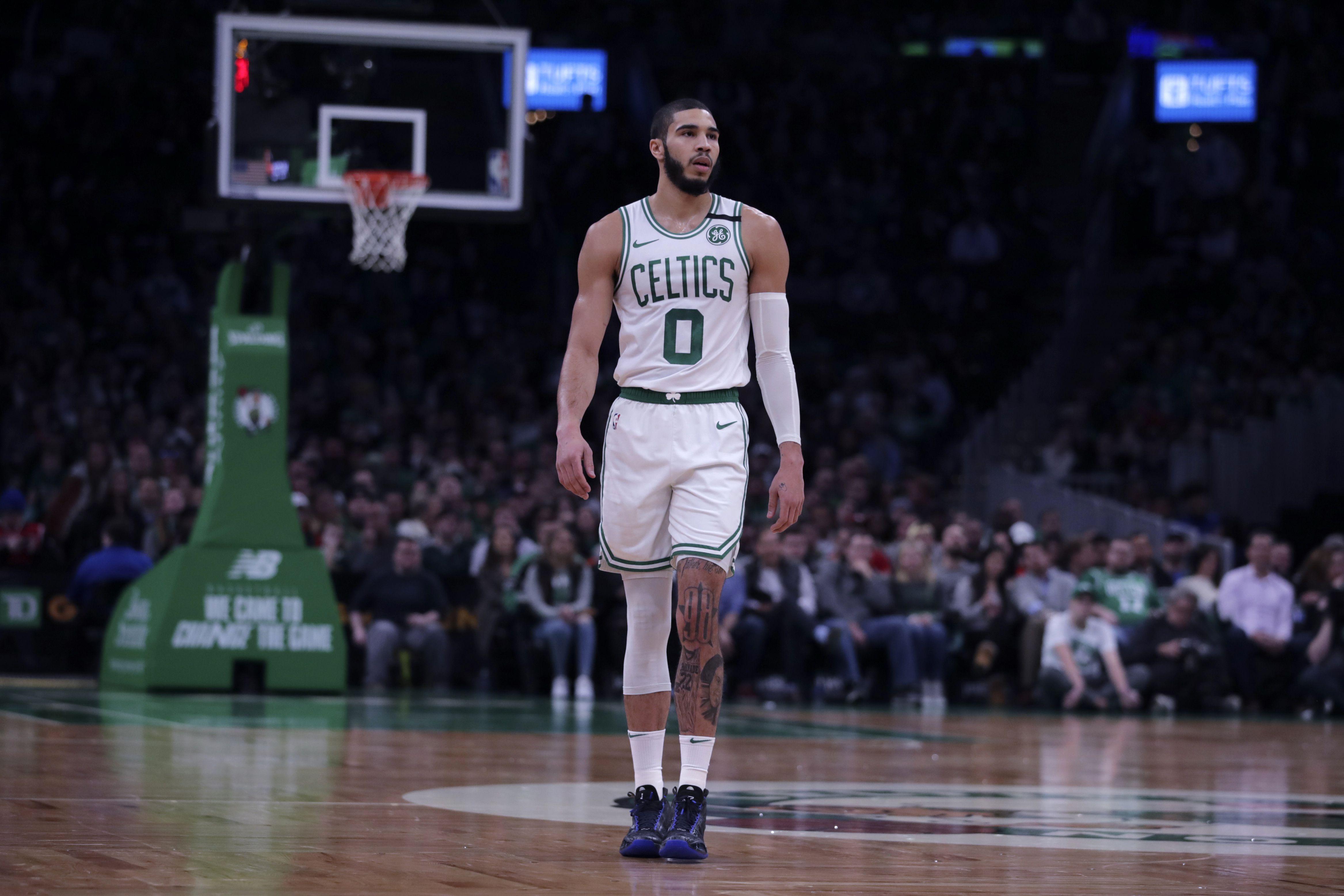 NBA most popular jerseys: Jayson Tatum fourth, Boston Celtics ...
