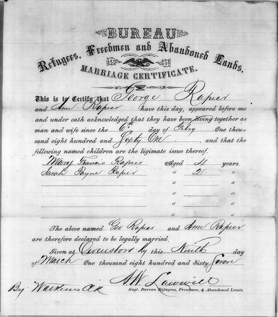 Historic Freedmen's Bureau records now available online