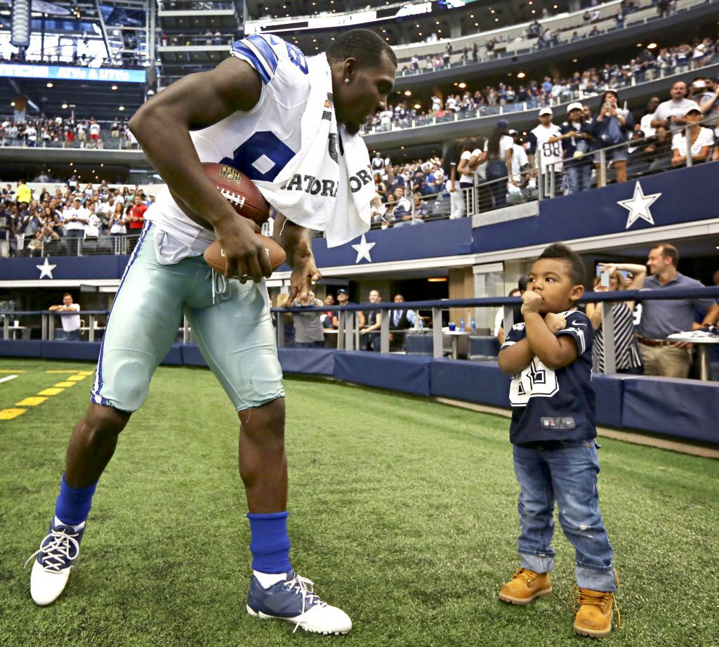 Dez Bryant Jr Was Pretty Much The Best Part Of The Pro Bowl