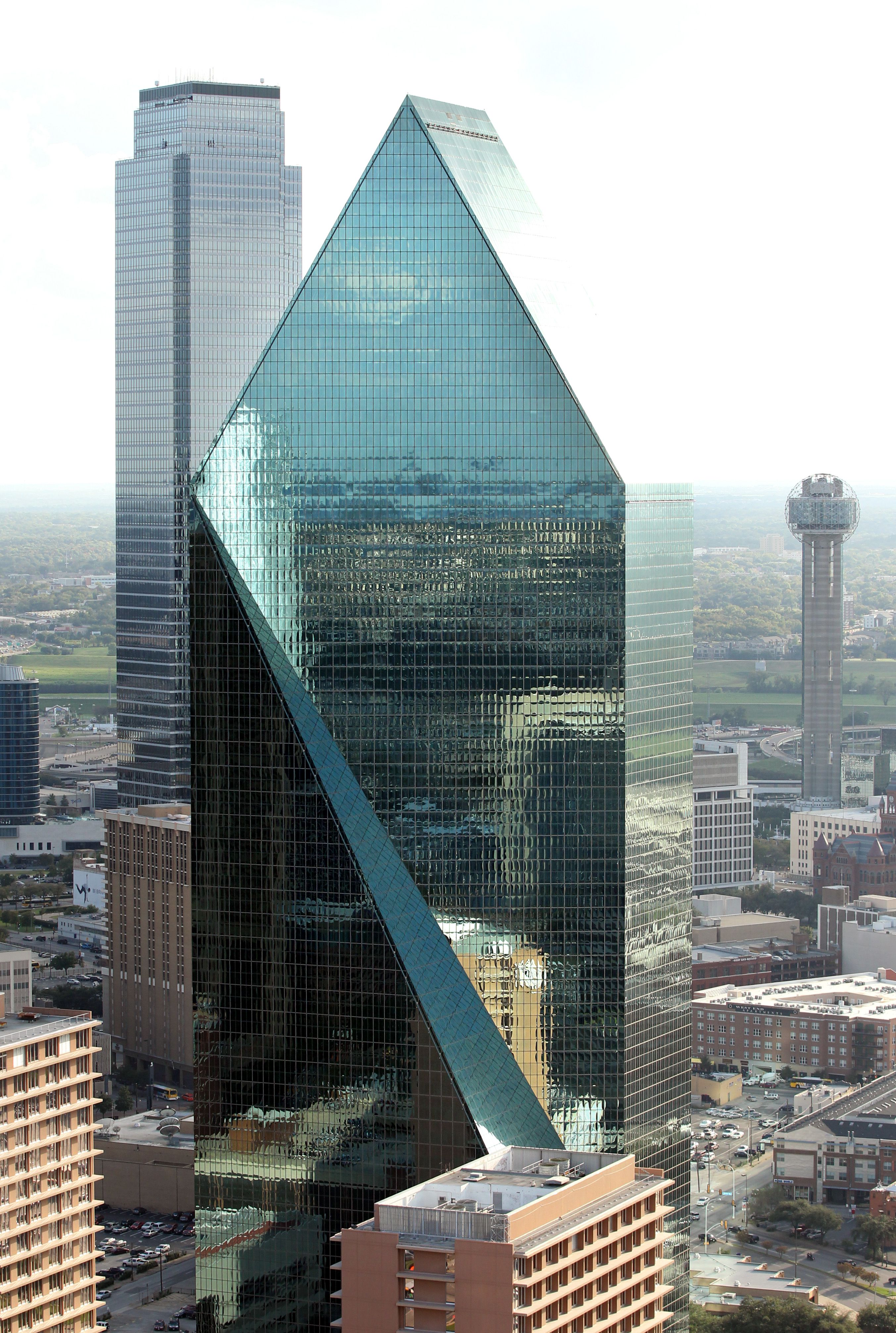 Architect of Fountain Place who shaped Dallas, dies at 93