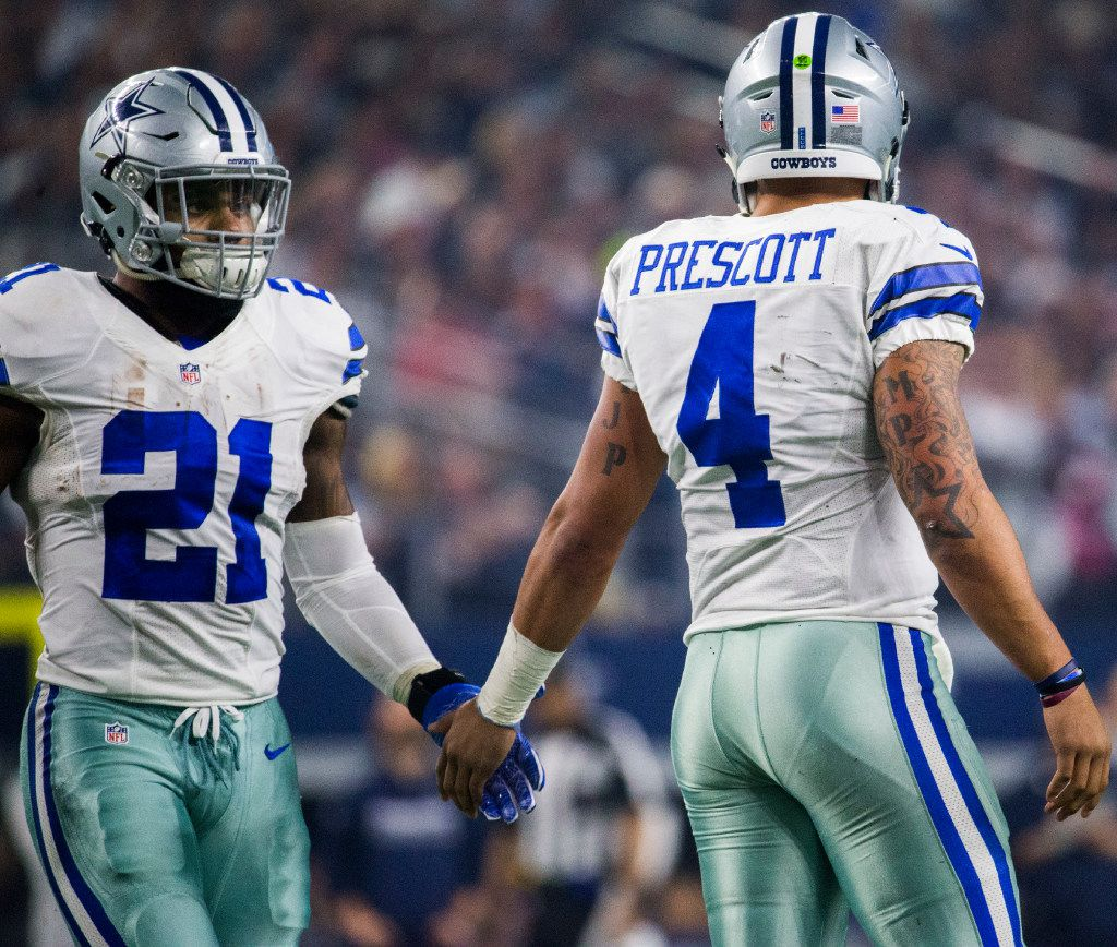 huge selection of caa68 feaf4 Dak Prescott gets new hat deal after he and Ezekiel Elliott ...