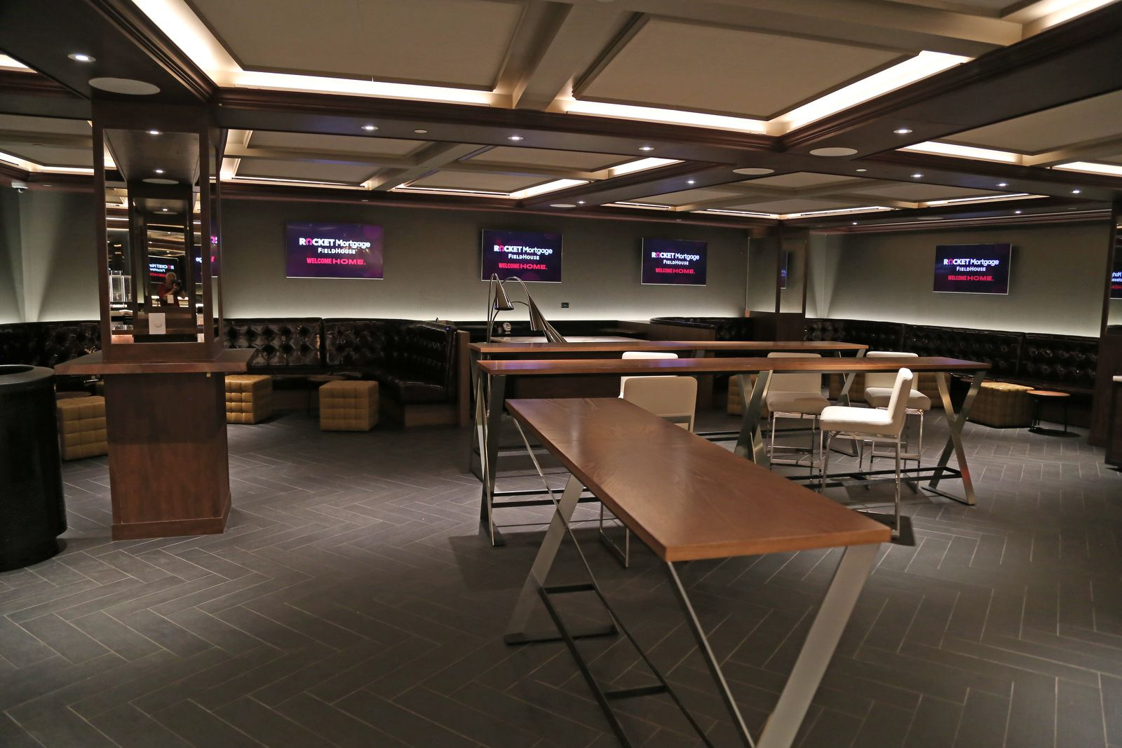 Rocket Mortgage Fieldhouse S Clubs And Suites Offer Luxury With A