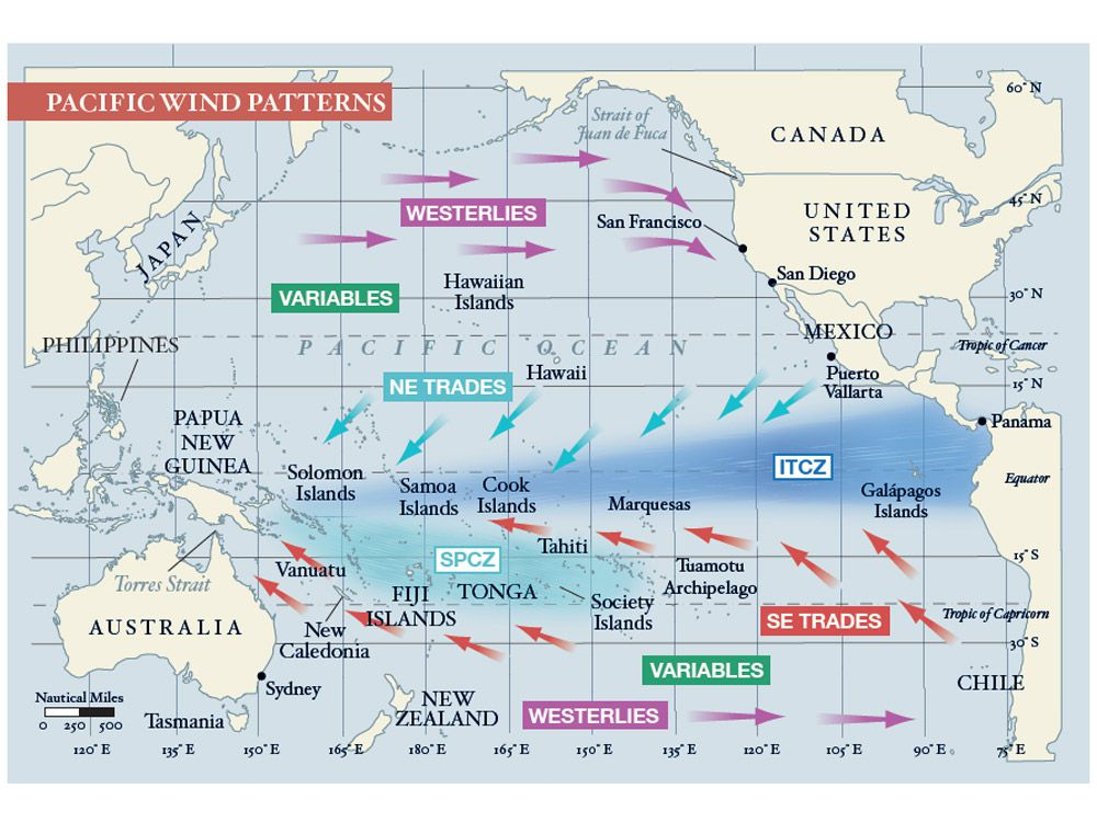 Sailing Across the Pacific, Routes & Tips   Cruising World