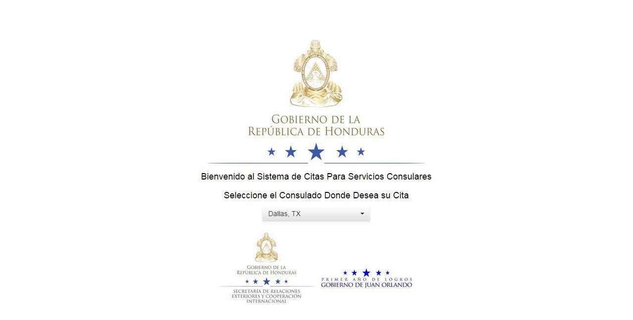 Consulado de Honduras ofrece citas en línea para pasaportes