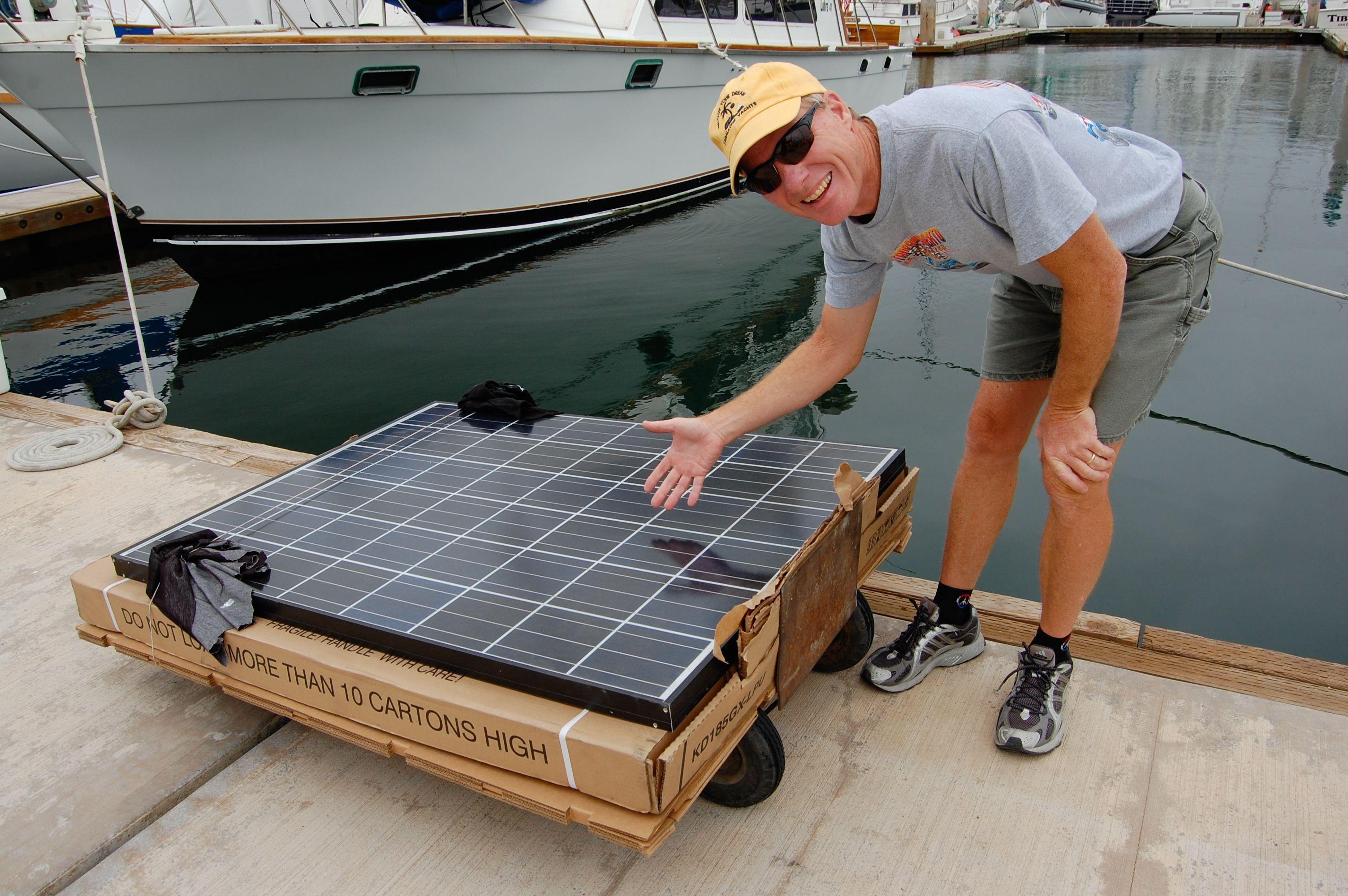 Marine Solar Panels For Sailboats Cruising World