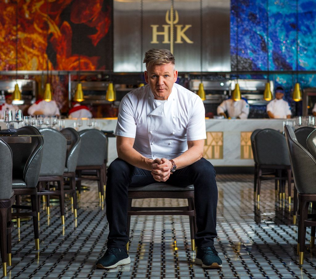 Peachy Gordon Ramsay Brings Hells Kitchen To The Vegas Strip Interior Design Ideas Helimdqseriescom