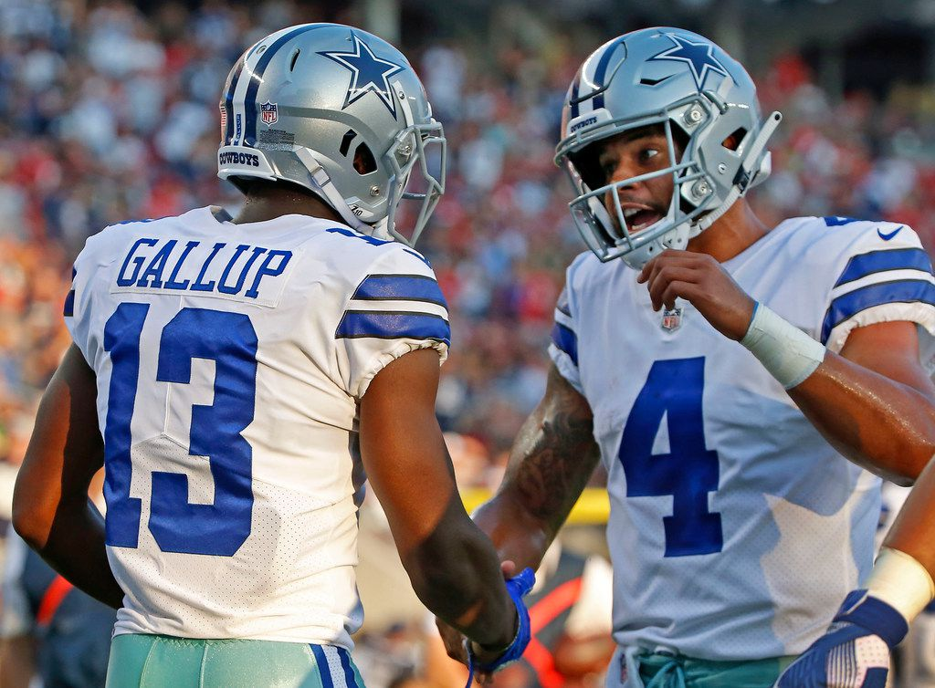 new product a6948 10c7f 5 thoughts on Cowboys' preseason loss to 49ers, including a ...