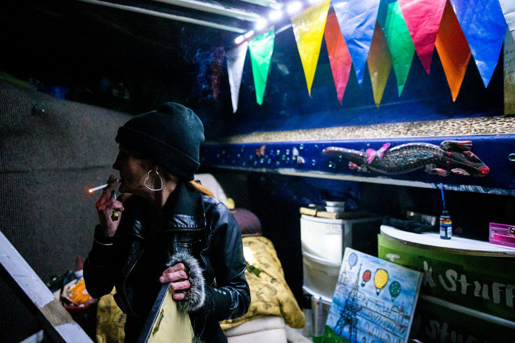 Dallas' homeless population is up for the second year in a
