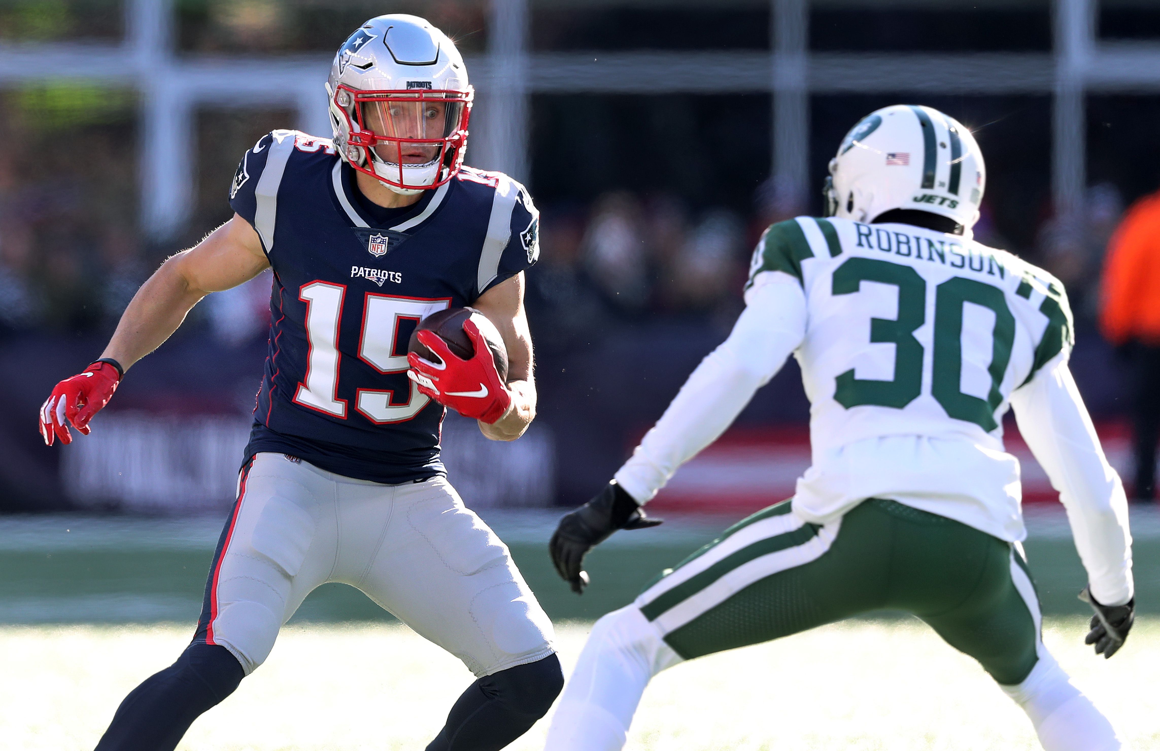 Former Patriots WR Chris Hogan is hoping to make a comeback — in ...