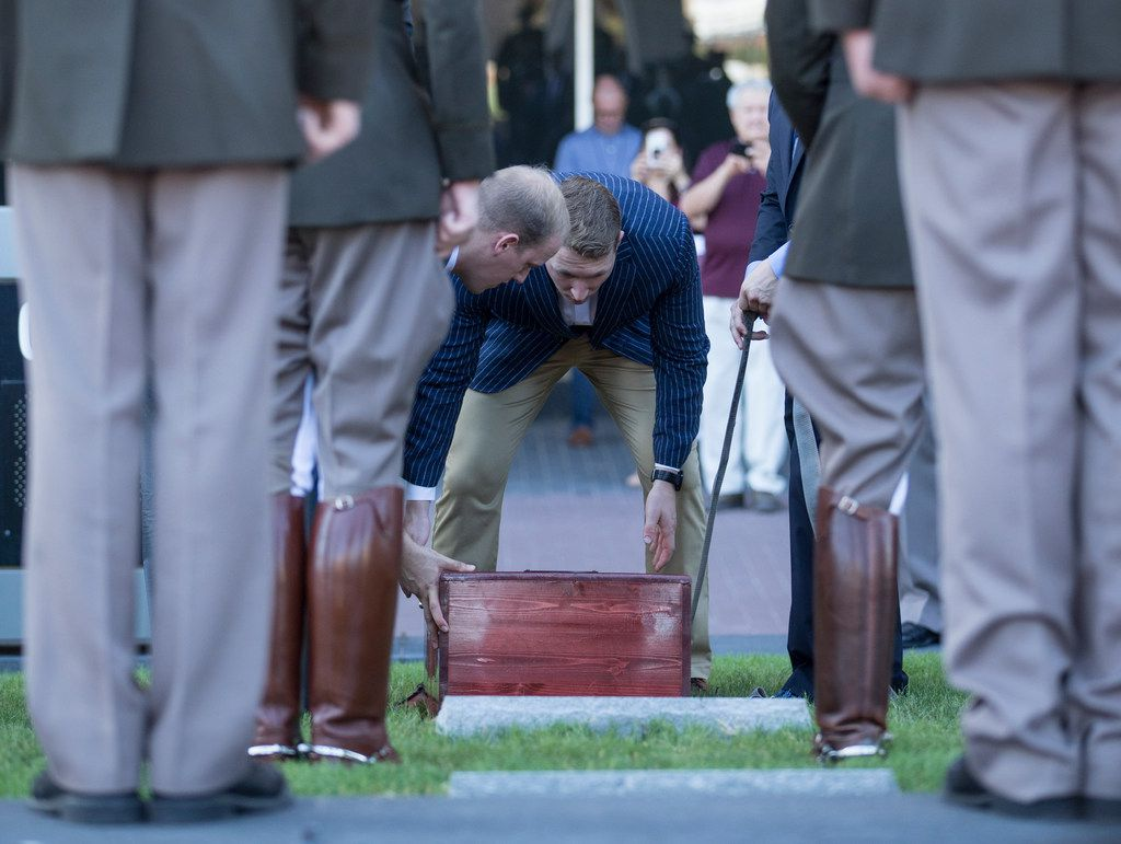 In funeral befitting a staple of Aggie tradition, Reveille