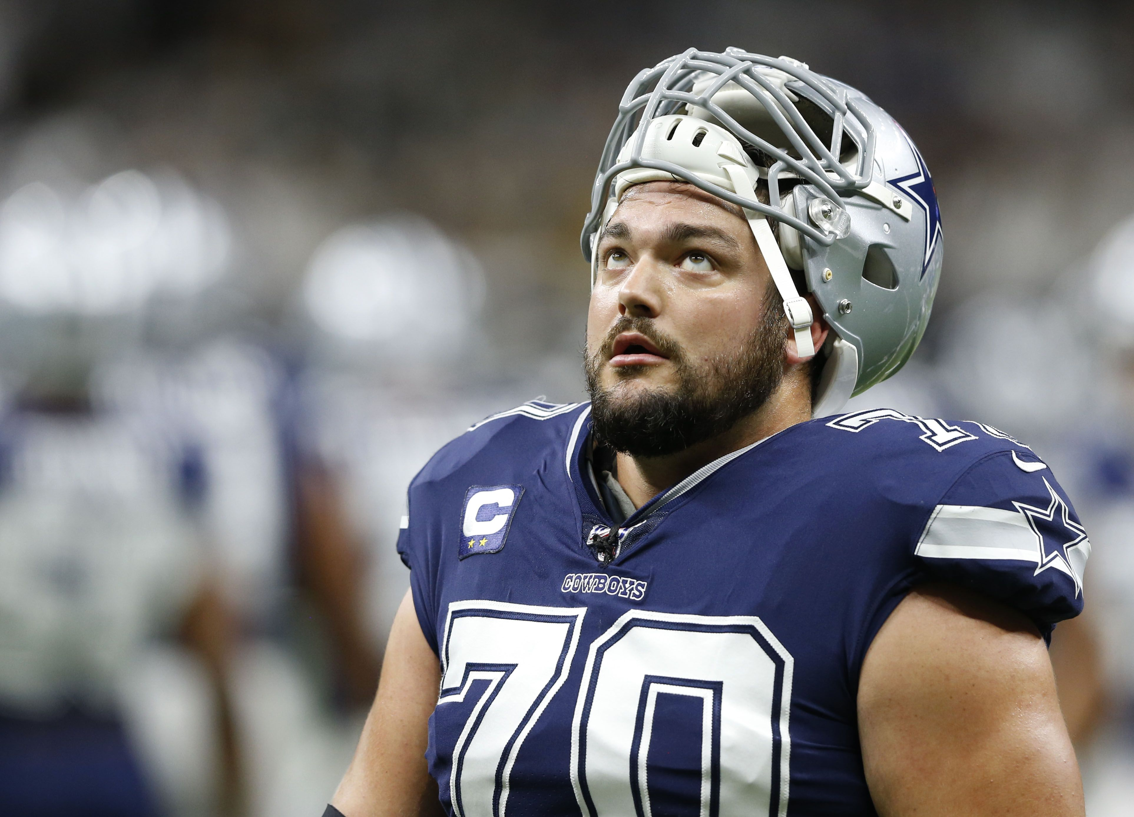 Cowboys RG Zack Martin returns to practice, expected to start vs ...