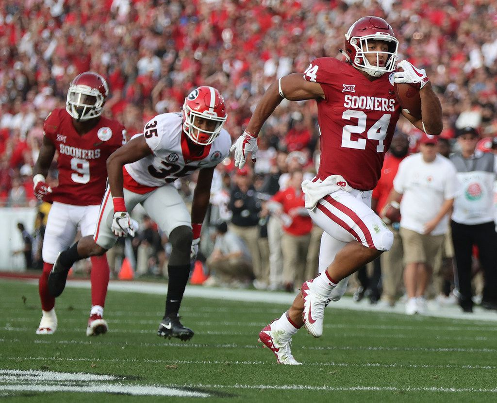 Oklahoma RB outlook for 2018: How high is Rodney Anderson's ceiling?