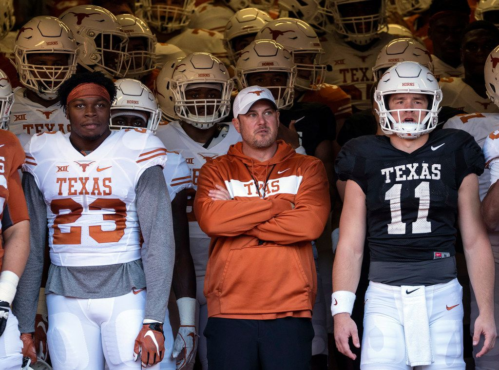 detailing dd7bc 1a141 Hype machine: Longhorns' spring game tasted like vanilla ...