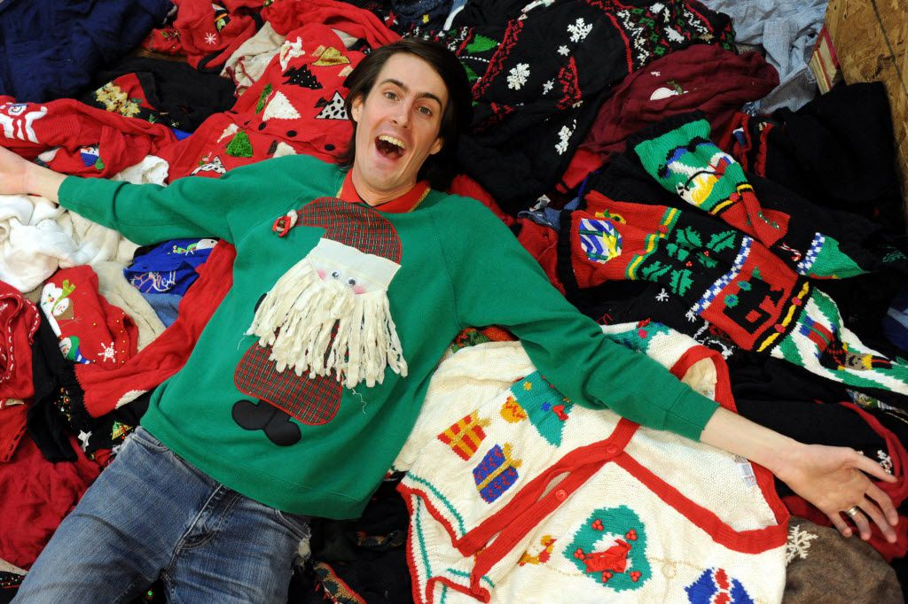 Ugliest Christmas Sweater.Stores Dedicated To Tacky Christmas Sweaters Pop Up In