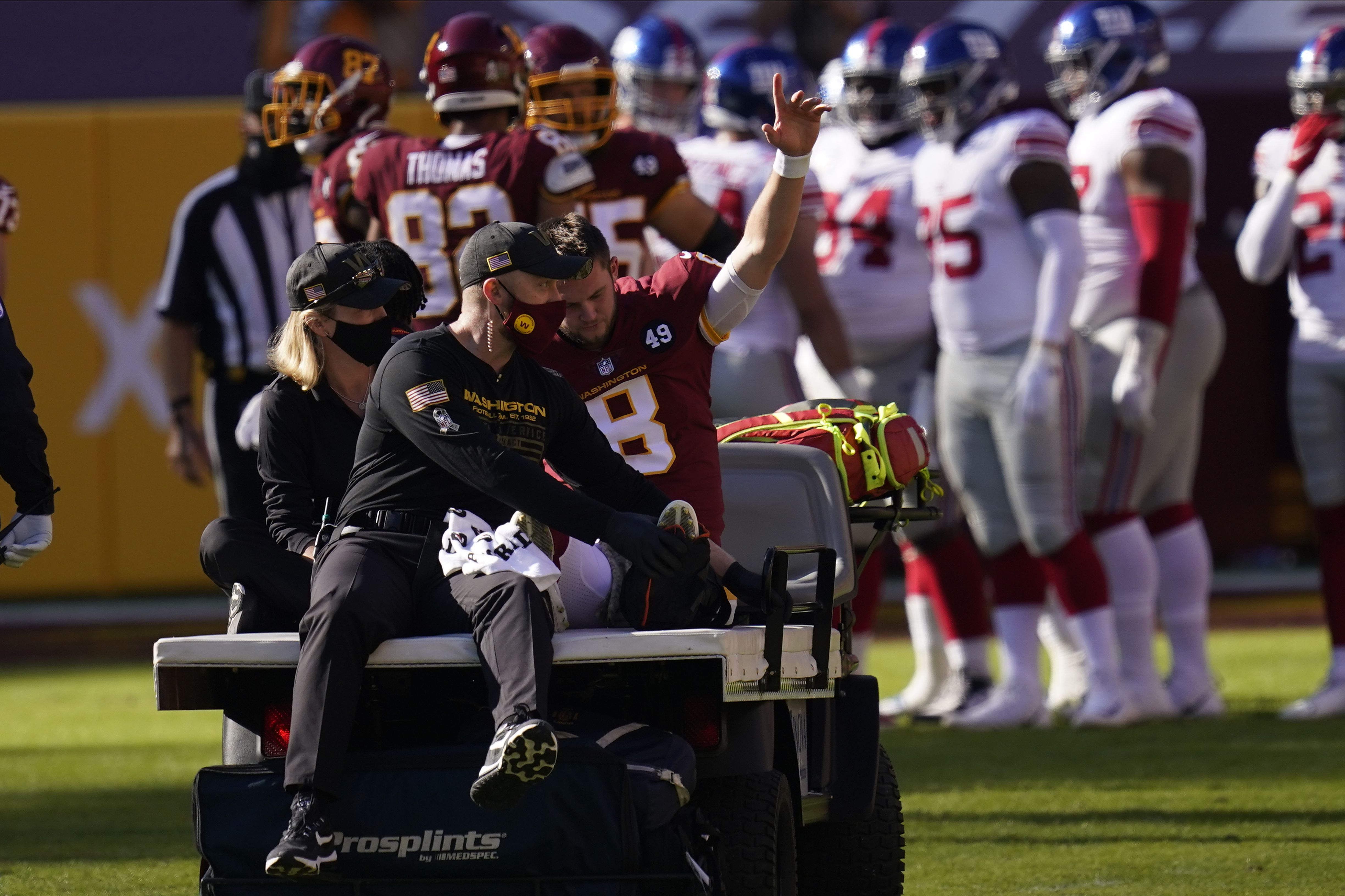 Alex Smith Experiences Other Side Of Awful Injury The Boston Globe