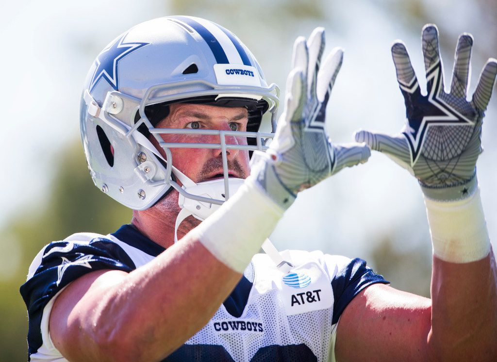 Observations from Oxnard: He's back! TE Jason Witten makes