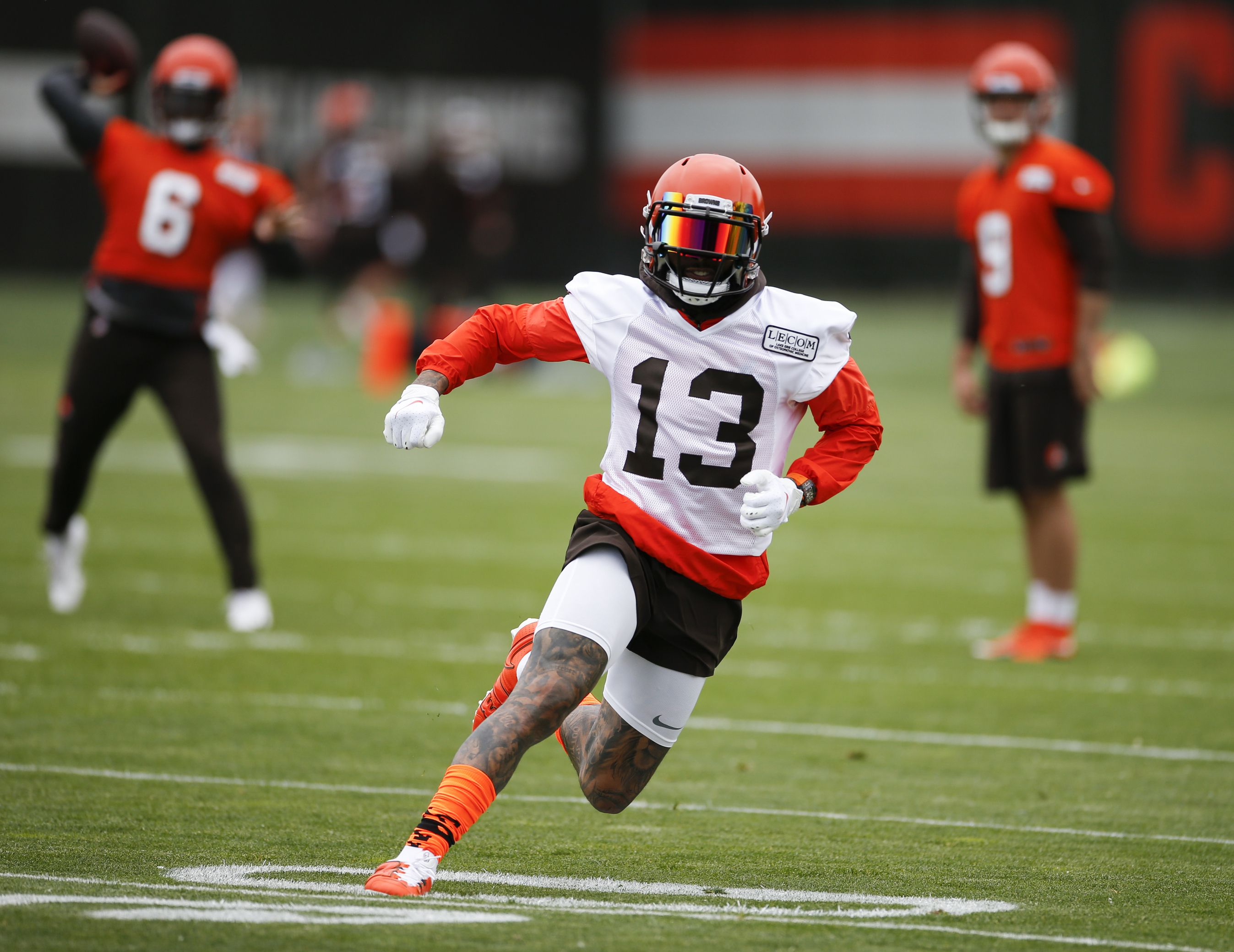 on sale eb4a8 83082 Browns star Odell Beckham Jr. close to being game ready ...
