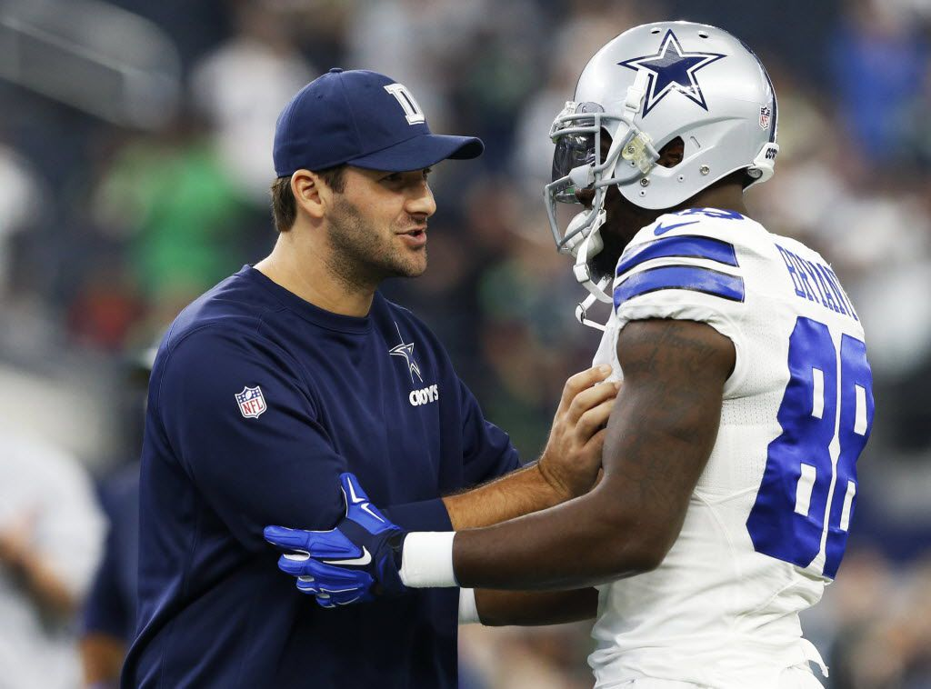 Ex Cowboys Qb Tony Romo Weighs In On Dez Bryant S Continuing