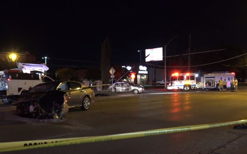 Lexus Fort Worth >> One Driver Dies Another Injured In Crash That Totaled 2
