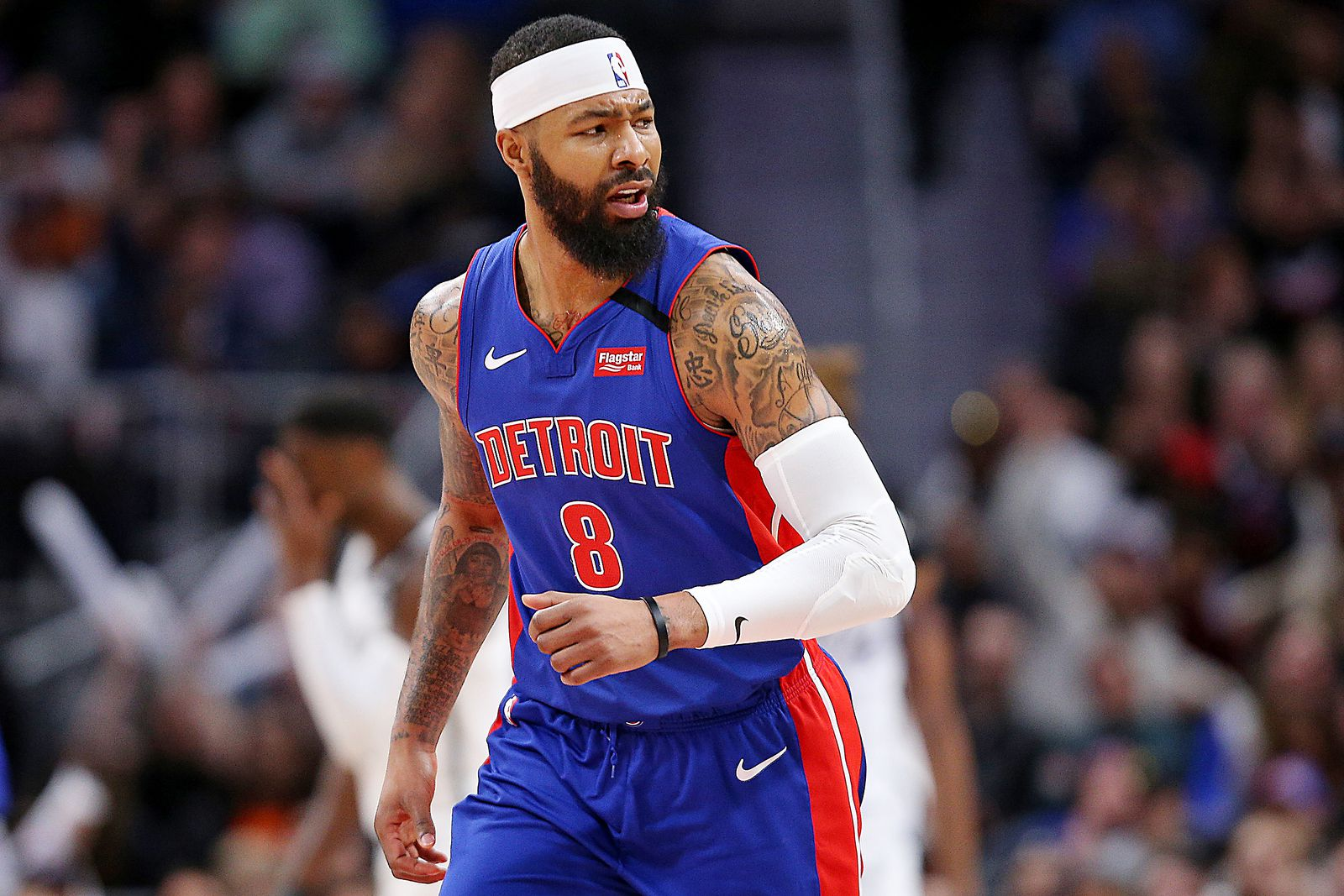 Pistons Markieff Morris Changes Number To Honor Kobe Bryant Mlive Com