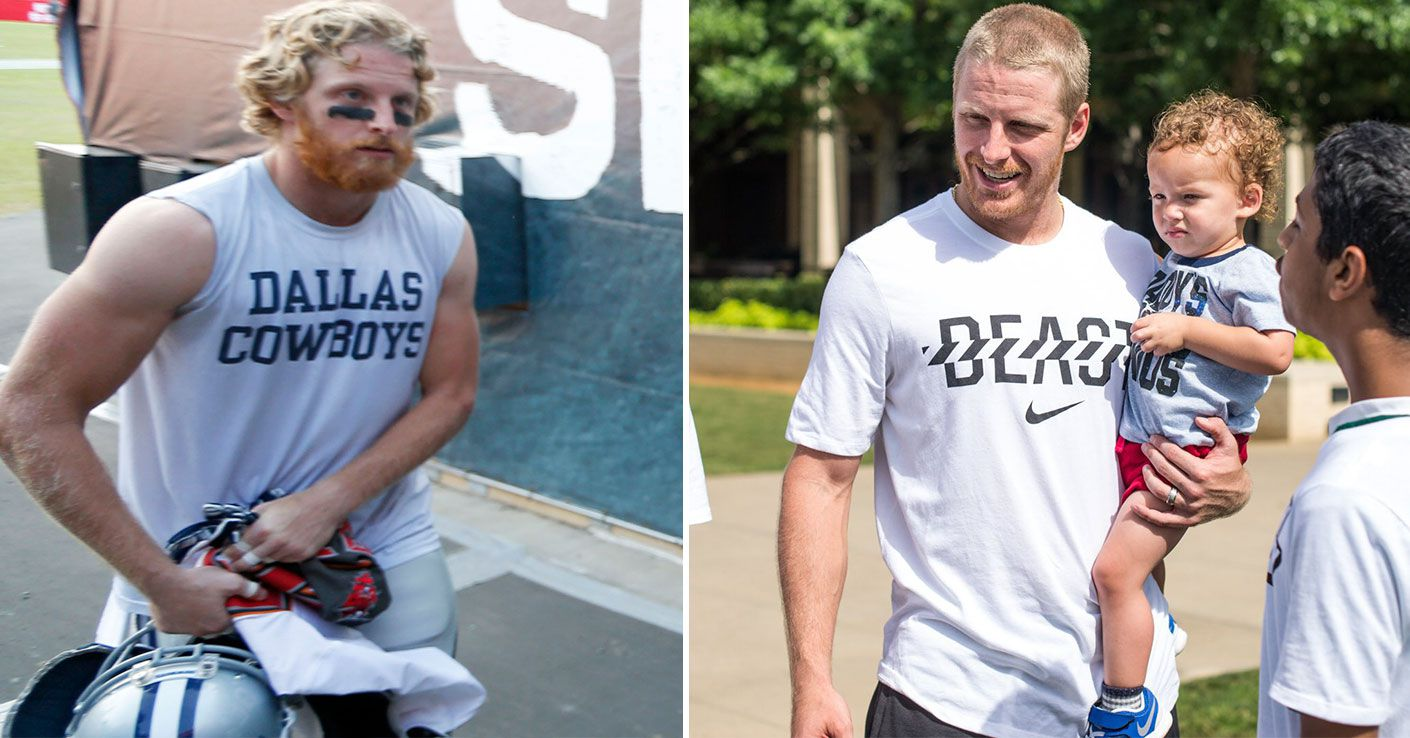 Cowboys Wr Cole Beasley Explains Why He Chopped Off His Hair What He Learned Working Out With Randy Moss