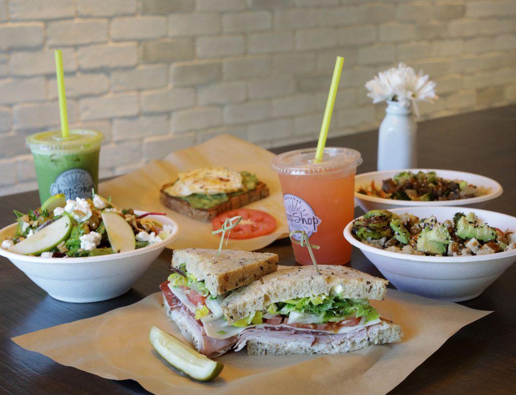 Good For You Restaurants Bellagreen And Original Chopshop