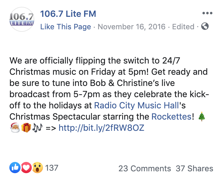 Christmas Music On 106.7, 2021 You Can Play And Torture Your Family With Christmas Music 24 7 Starting Today Thanks To 106 7 Nj Com