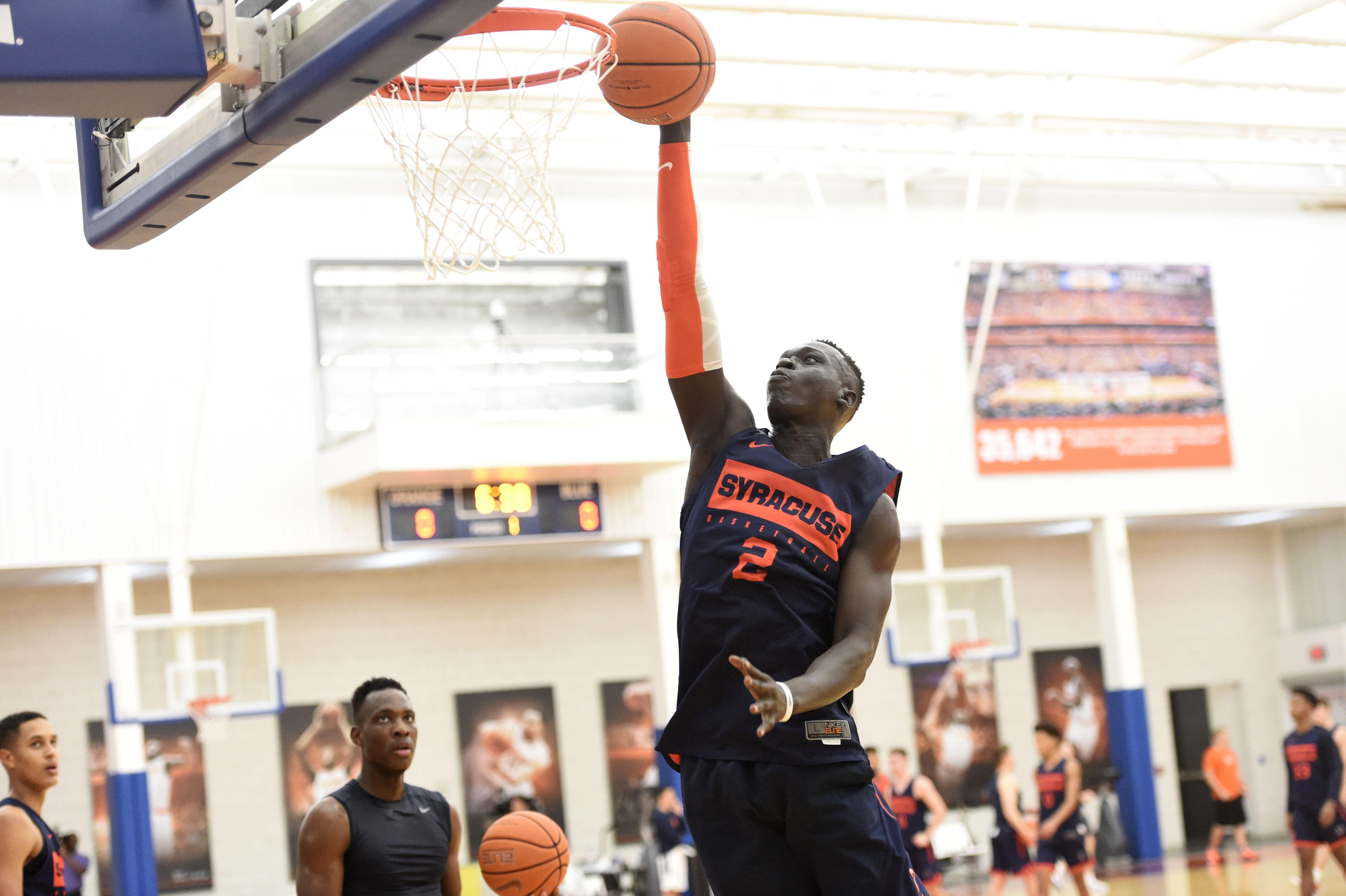 Syracuse Basketball Freshman John Bol Ajak Will Redshirt