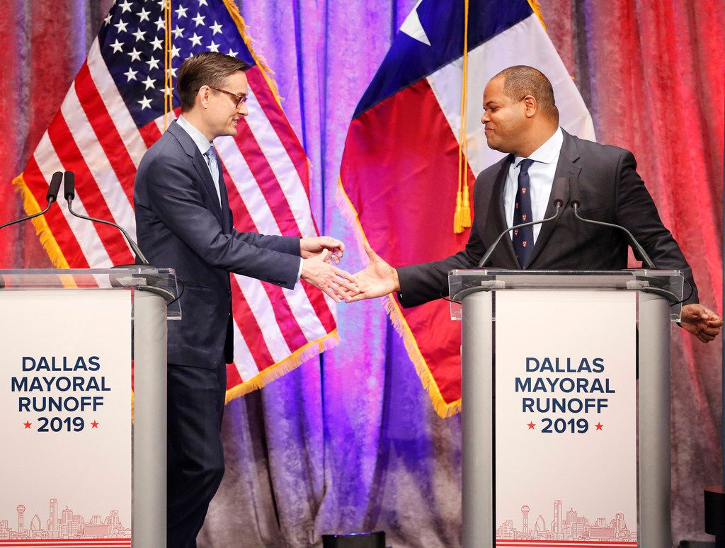 Why does Dallas have nonpartisan municipal elections