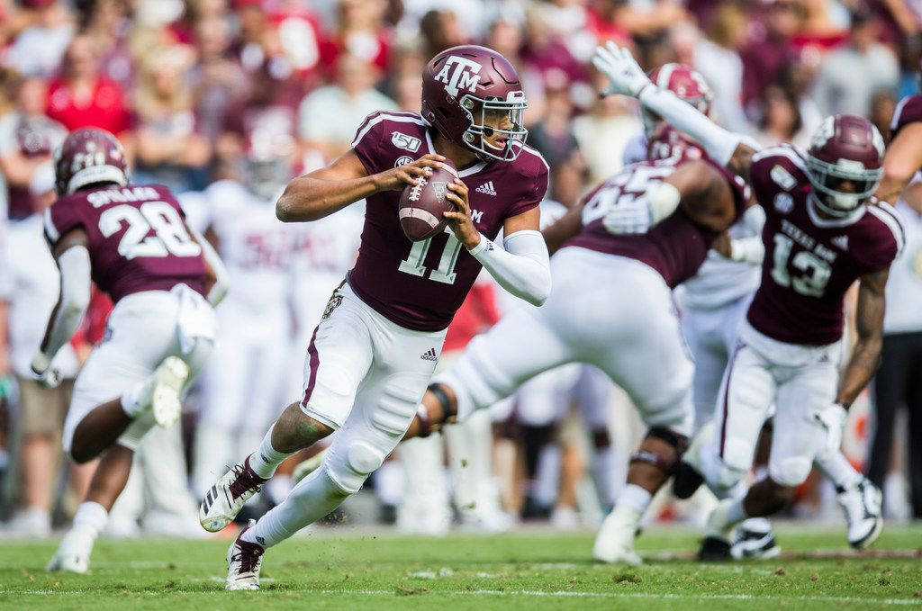 Senior Qb Kellen Mond Is On A Mission To Lead Texas A M To A Higher Level This Season